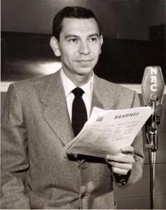 Jack Webb, creator od Dragnet Radio Series