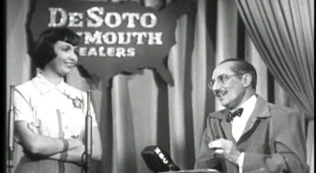 You Bet Your Life #50-21 Army quartermaster; Sculptor (Secret word 'Door', Feb 22, 1951)